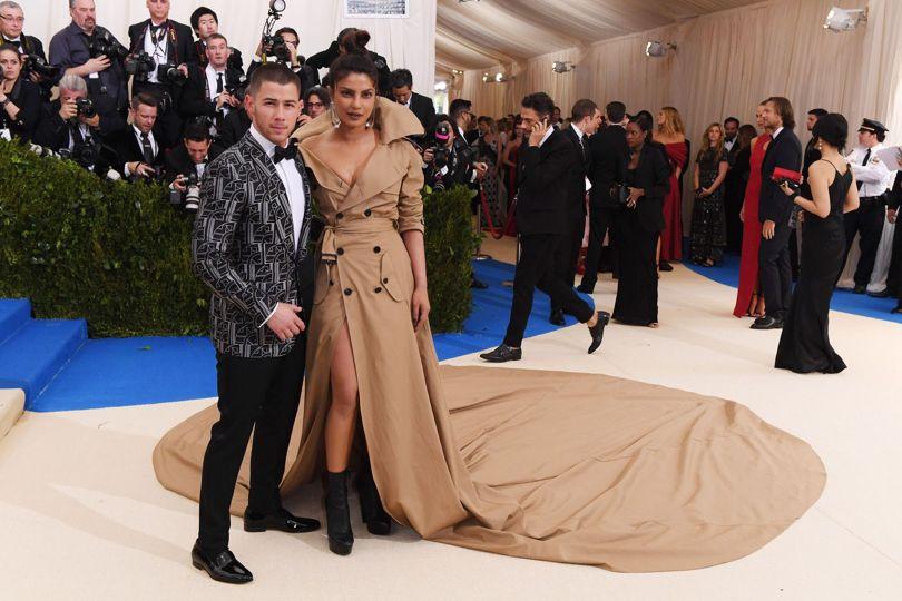 Nick Jonas Priyanka Chopra Met Gala 2017