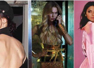 Supermodel photos poses