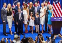 Donald-Trump-first-family