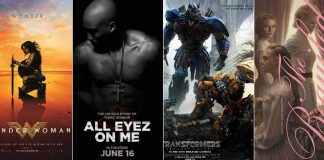 Hollywood movies June 2017