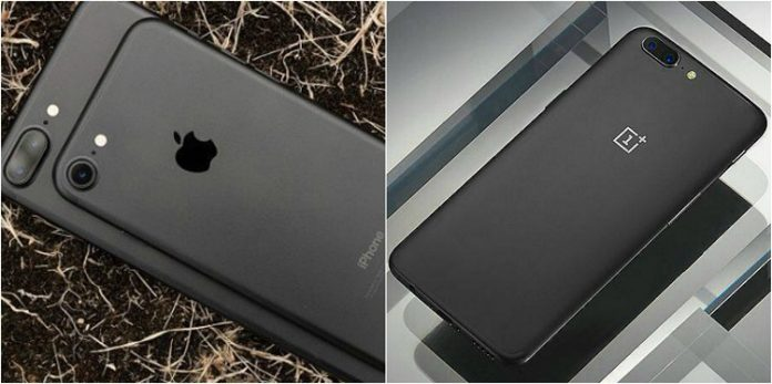 iPhone 7 or OnePlus 5