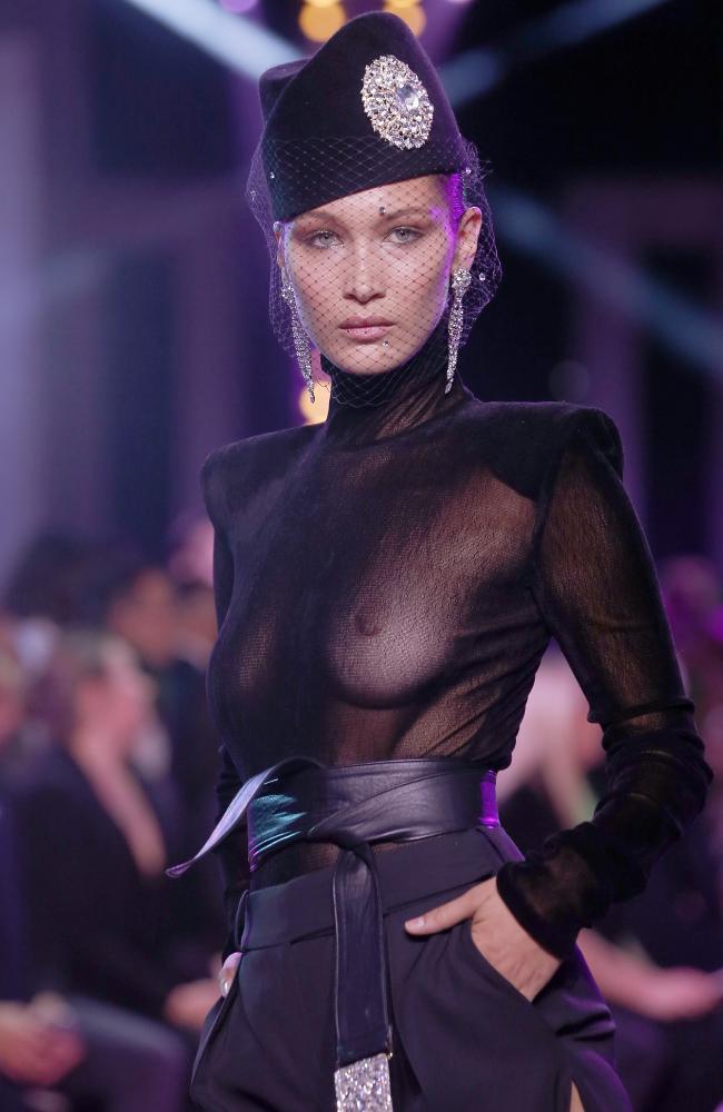 Bella Hadid at Paris Haute Couture Week 2017