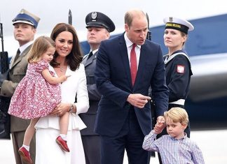 British Royals visit Warsaw, Poland