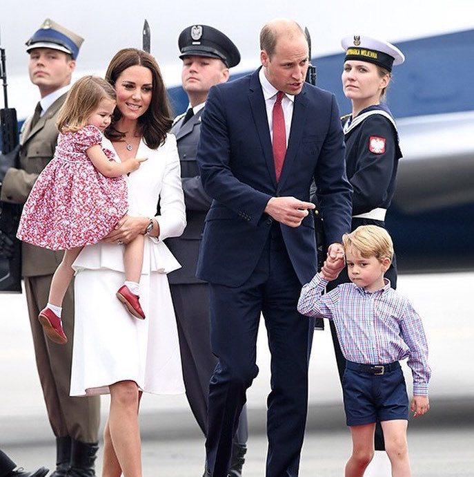 British Royals visit Warsaw, Poland