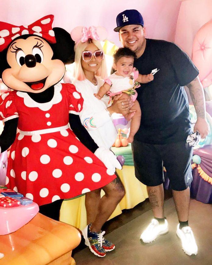 Blac Chyna, Rob Kardashian and Dream
