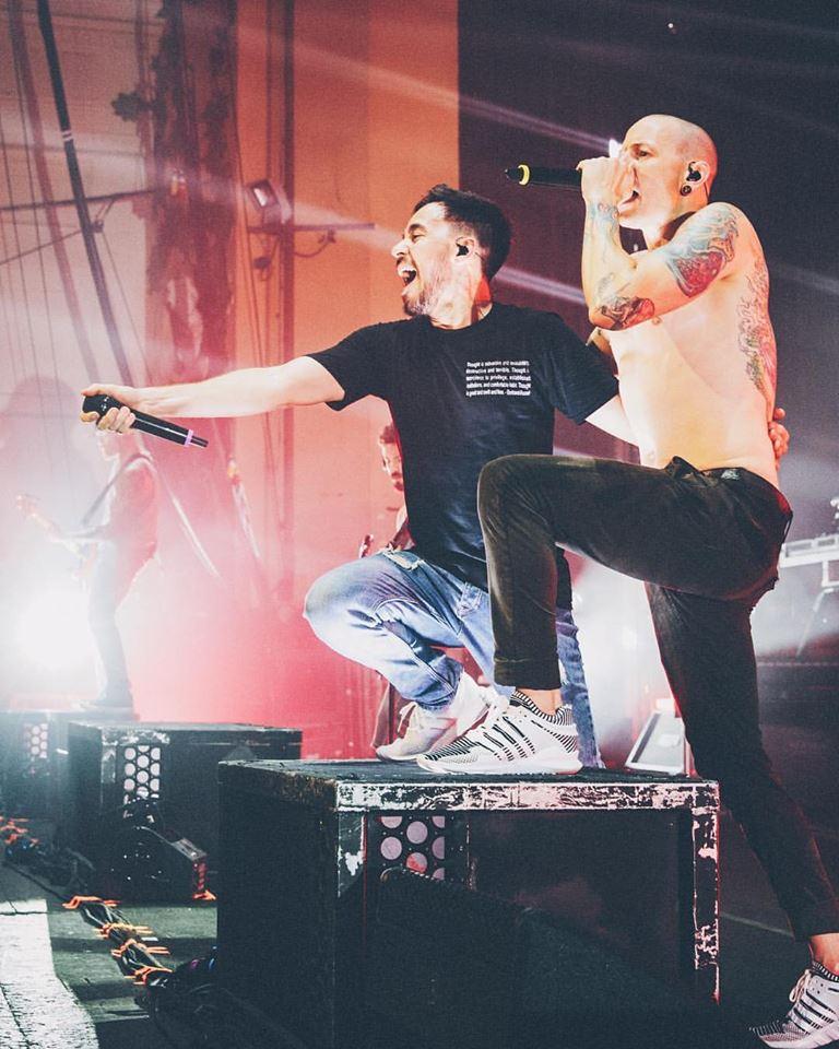Chester Bennington and Mike Shinoda Linkin Park