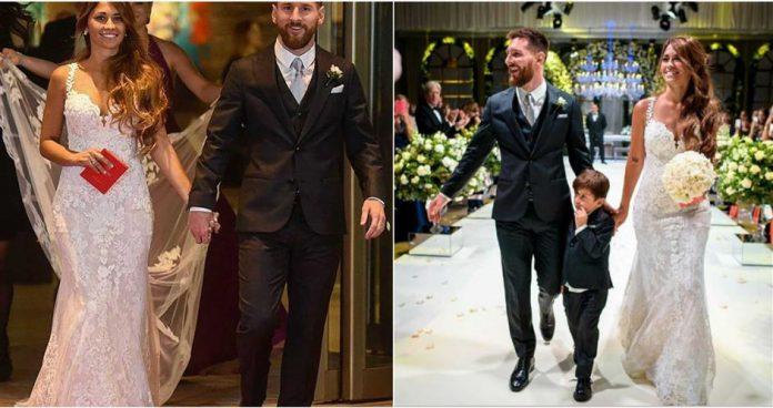 Lionel Messi Wedding