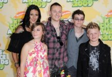 Chester Bennington, Talinda and family