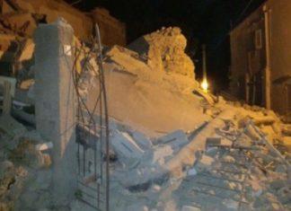 Earthquake in Ischia, Italy