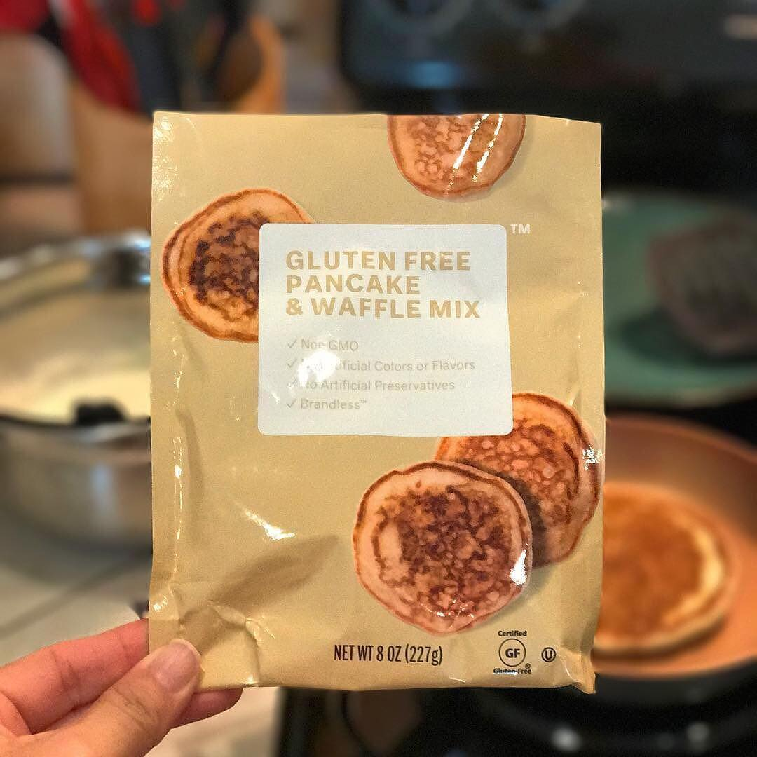 Brandless offers gluten-free pancake mix!
