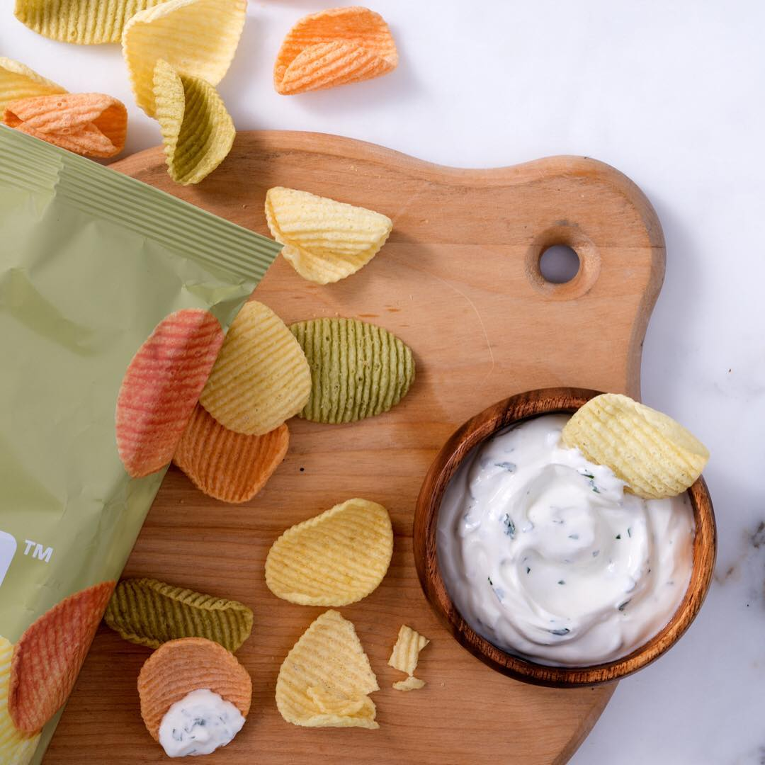 Brandless preservative-free vegetable chips!