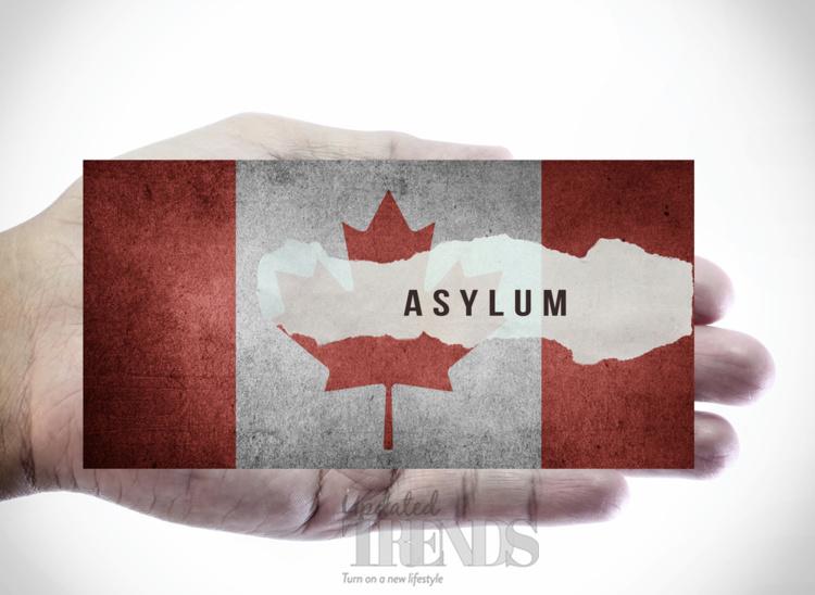 Canada flag refugee asylum