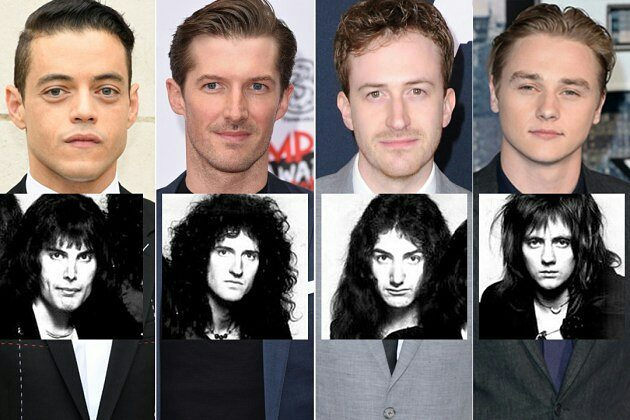 Cast Bohemian Rhapsody Queen Biopic