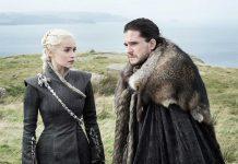Daenerys Targaryen and Jon Snow Game of Thrones Eastwatch