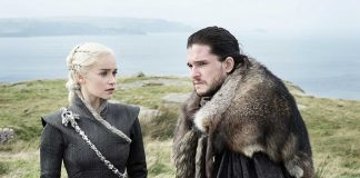 Daenerys Targaryen and Jon Snow Game of Thrones Eastwatch