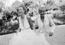 Ellen DeGeneres and Portia de Rossi Wedding