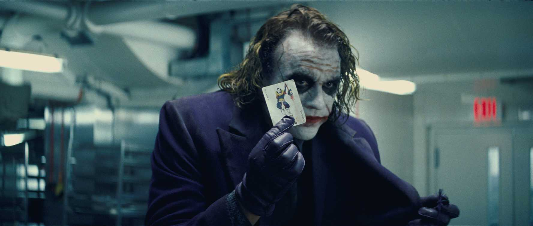 Heath Ledger iconicized The Joker in The Dark Knight