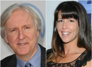 James Cameron and Patty Jenkins