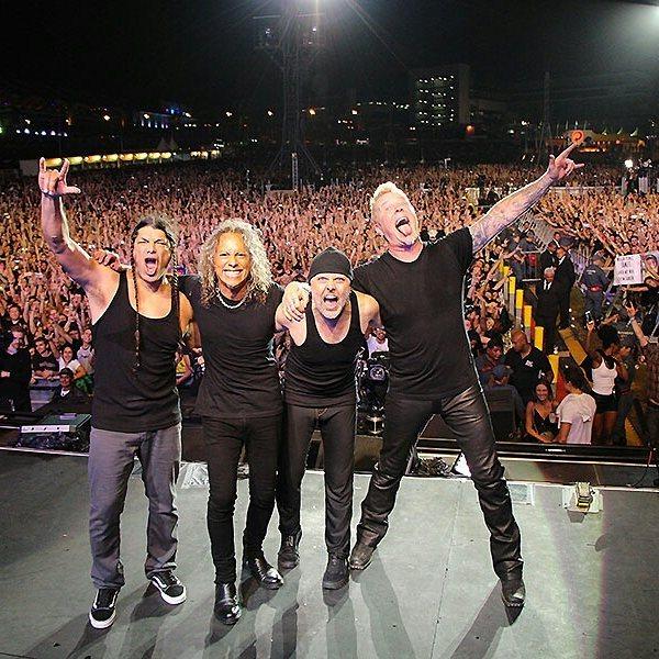 Metallica in Sao Paulo, Brazil