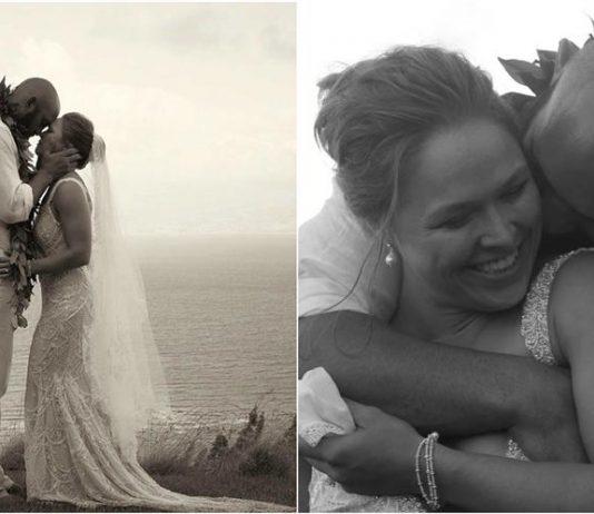 Ronda Rousey and Travis Browne wedding