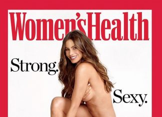 Sofia Vergara nude on the cover of Women's Health magazine