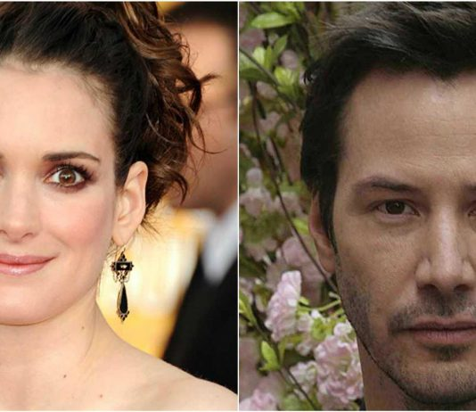 Keanu Reeves and Winona Ryder