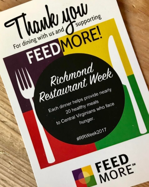 Richmond Restaurant Week