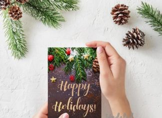 Christmas season cards