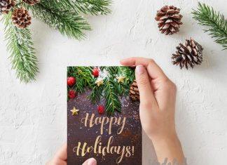Christmas season cards