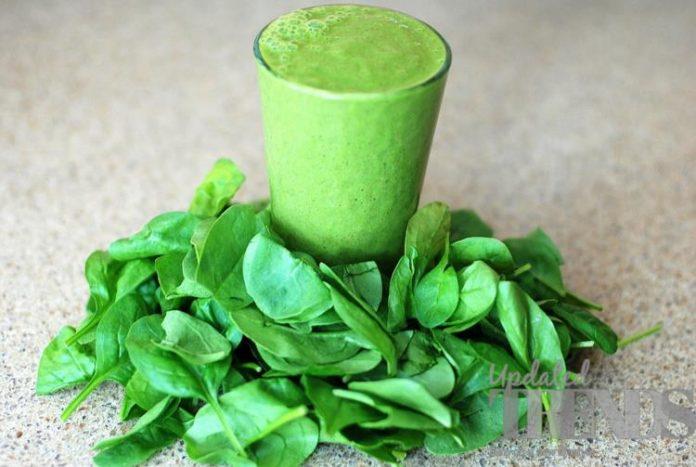 raw spinach