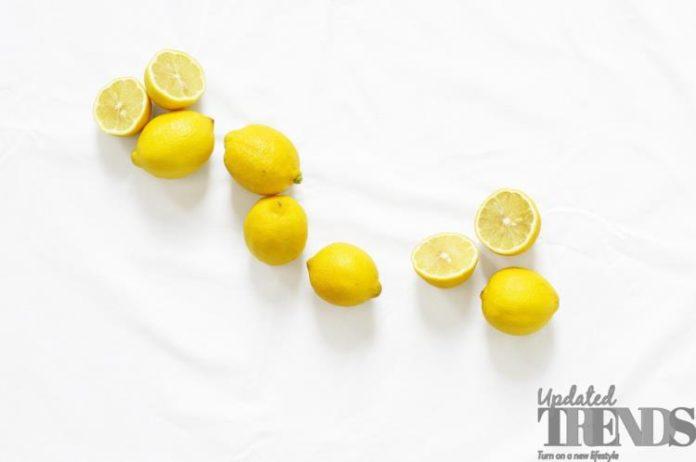 lemon water bath